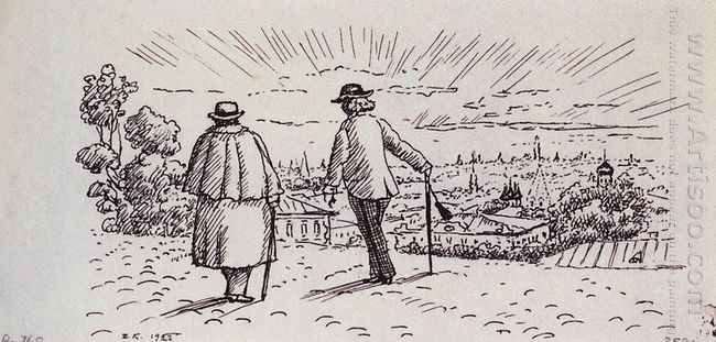 On The Promenade 1922