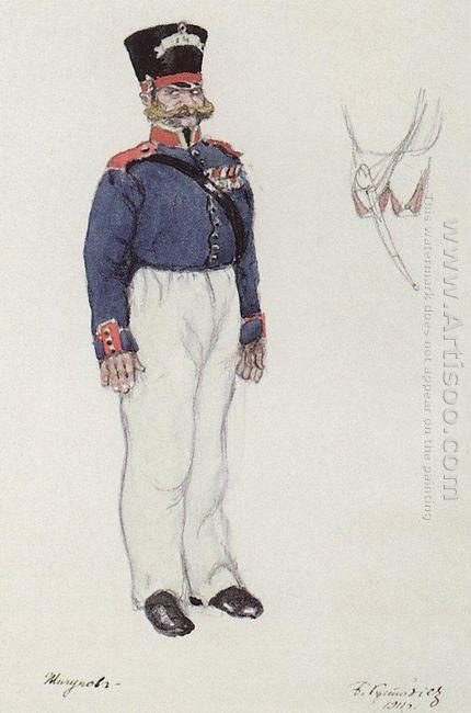 Policeman Zhigunov 1911