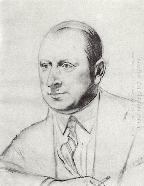 Portrait B A Gorin Goryainov 1926 1