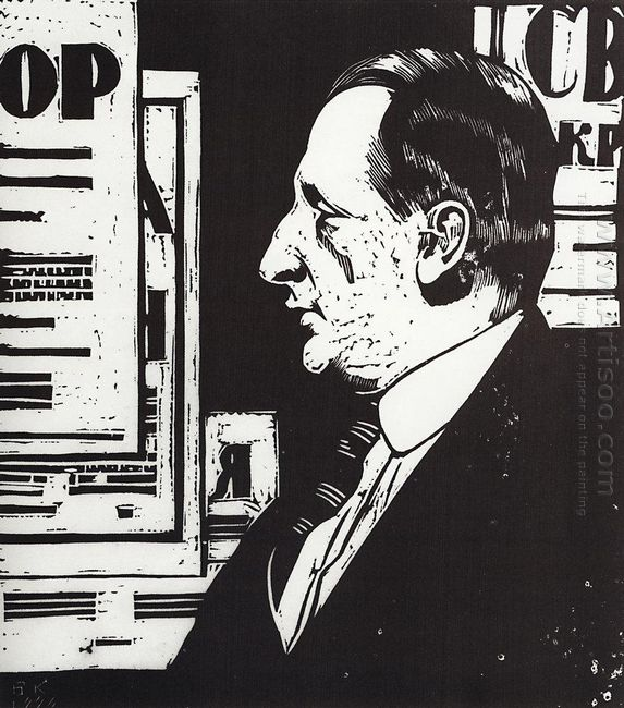 Portrait B A Gorin Goryainov 1926 2