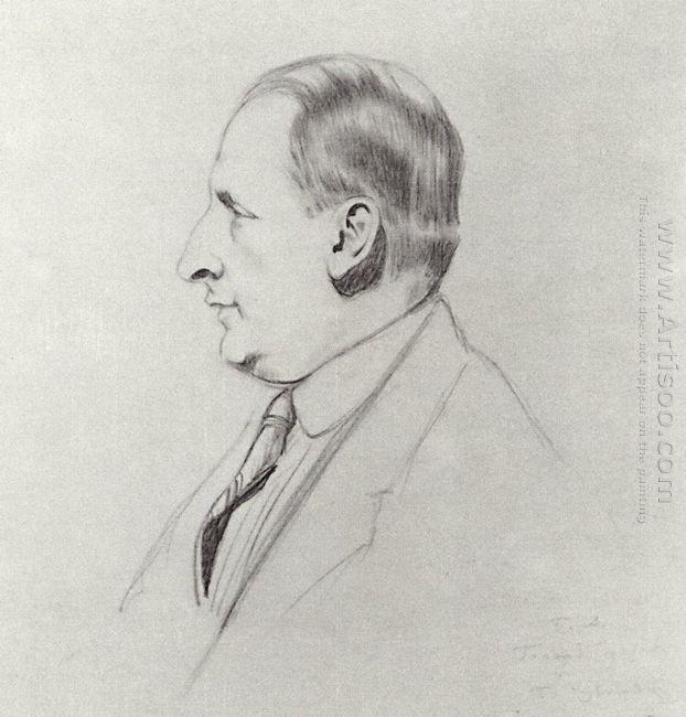 Portrait B A Gorin Goryainov 1926