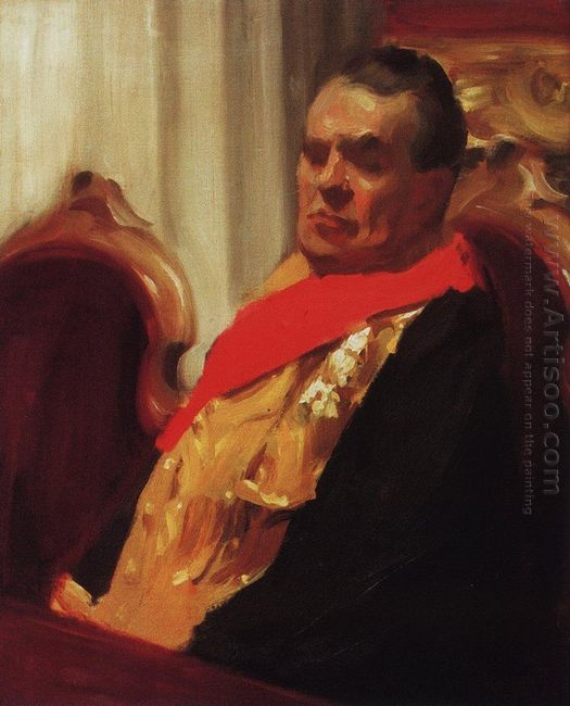 Portrait Of A A Polovtsev 1903