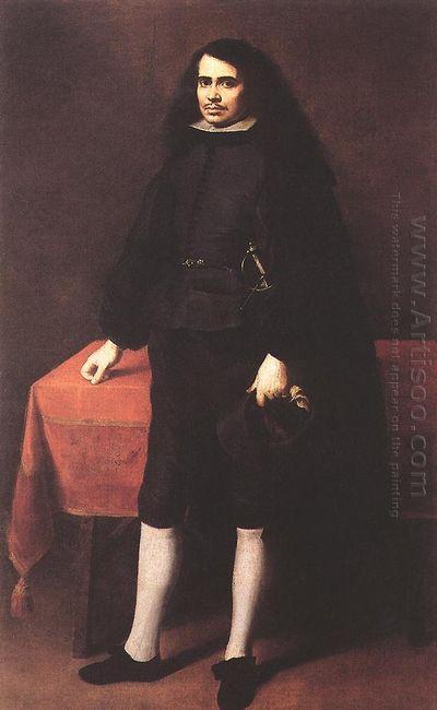Portrait Of A Gentleman In A Ruff Collar 1670