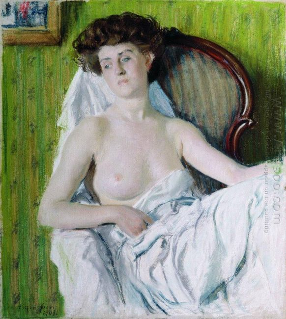 Portrait Of A Lady Model 1908