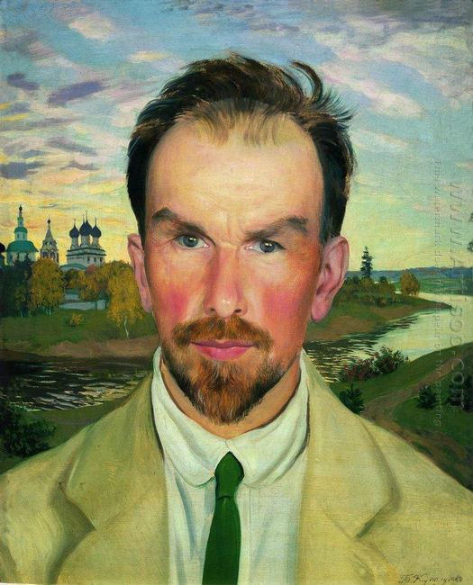 Portrait Of An Art Historian And Restorer Alexander Anisimov 191