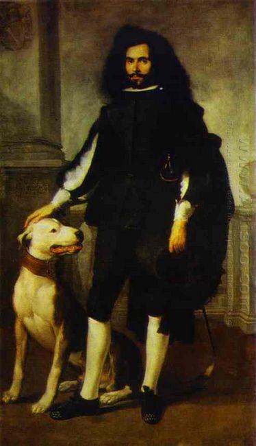 Portrait Of Andres De Andrade I La Col 1660