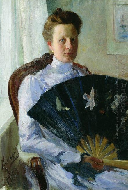 Portrait Of A N Protasova 1900