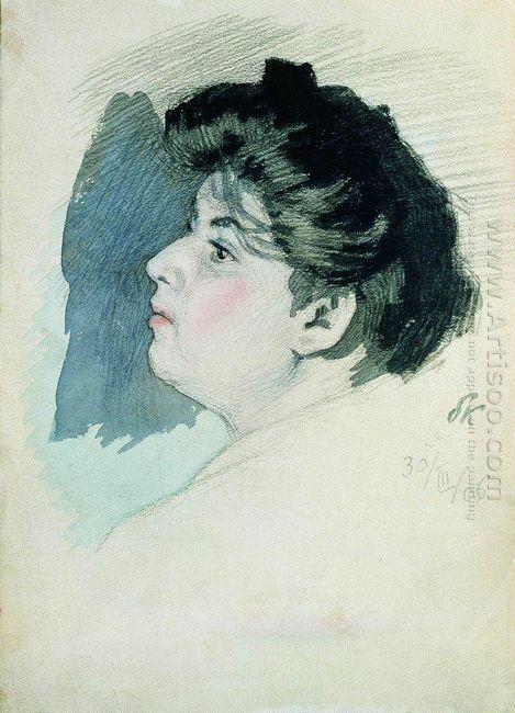 Portrait Of An Unknown Woman 1906