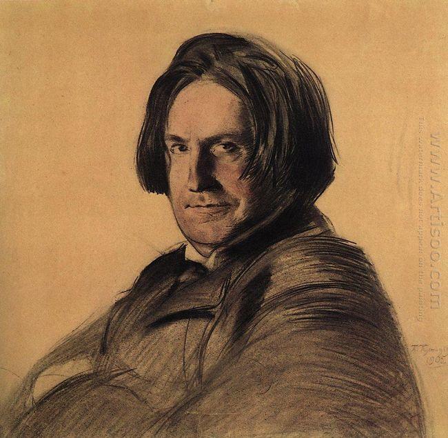 Portrait Of A Singer I V Ershov 1905
