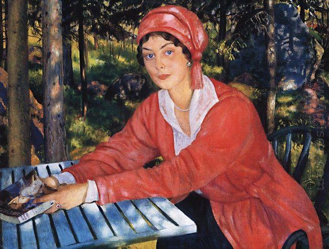 Portrait Of Countess Grabowska 1917