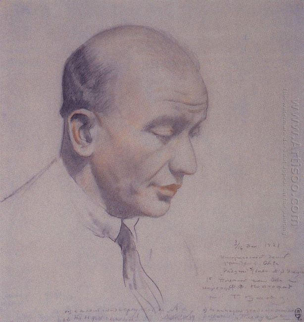 Portrait Of F F Notgaft 1921