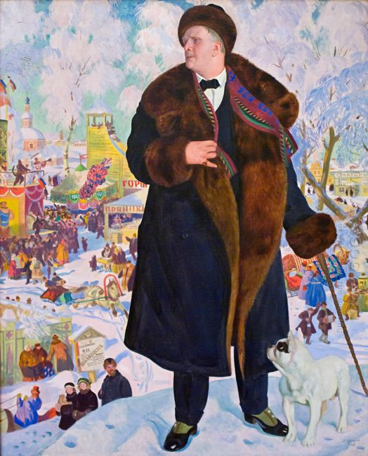 Portrait Of Fyodor Chaliapin 1921