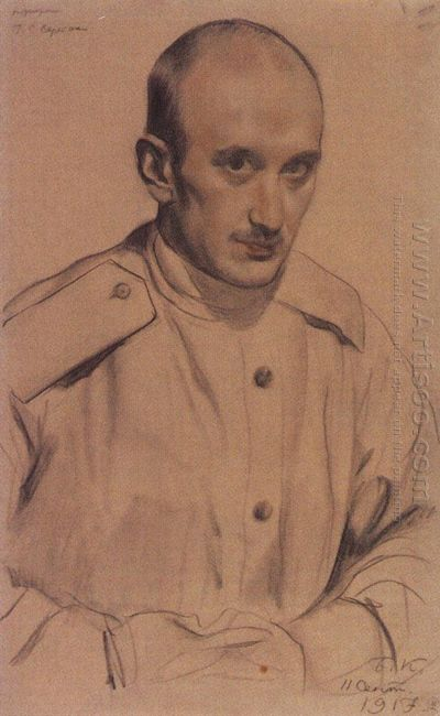 Portrait Of G S Vereisky 1917