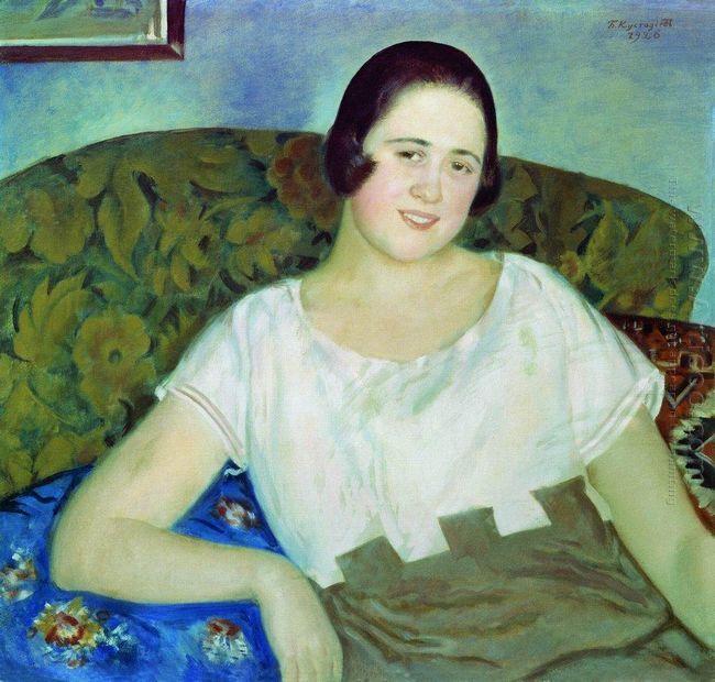 Portrait Of I Ivanova 1926