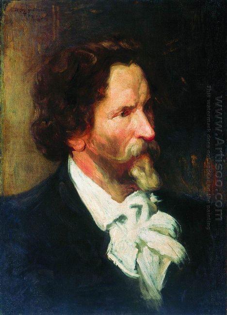 Portrait Of Ilja Repin 1902