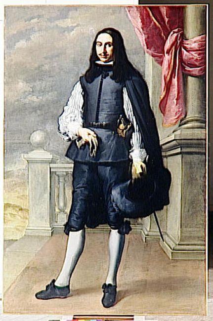 Portrait Of Inigo Melchor Fernández De Velasco 1659