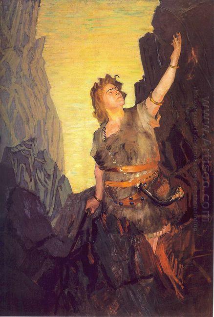 Portrait Of Ivan Yershov The Role Of Siegfried 1908