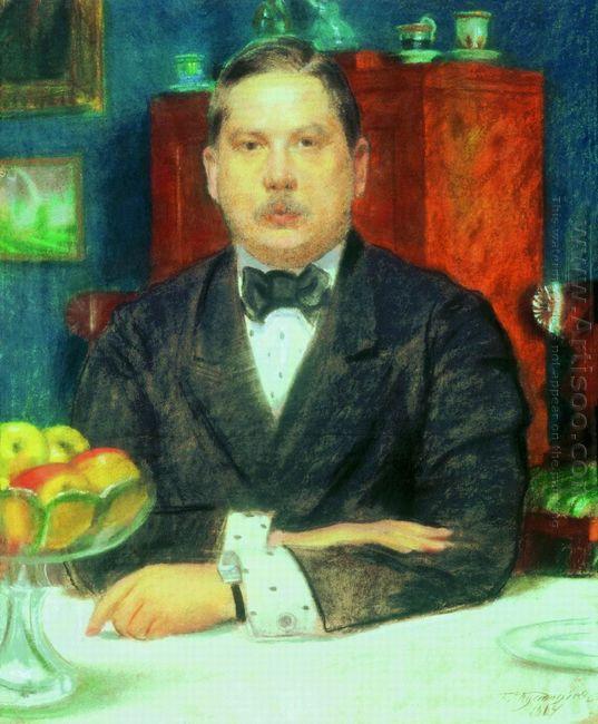 Portrait Of Konstantin Somov 1914