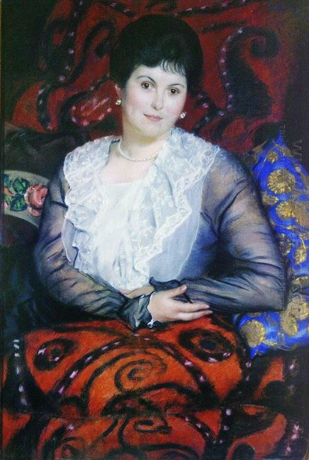 Portrait Of Lyubov Borgman 1915