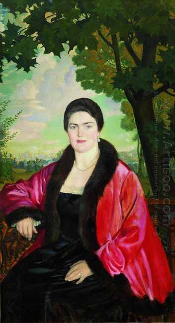 Portrait Of M V Chaliapina 1919