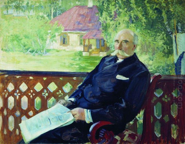 Portrait Of N A Podsosov 1906