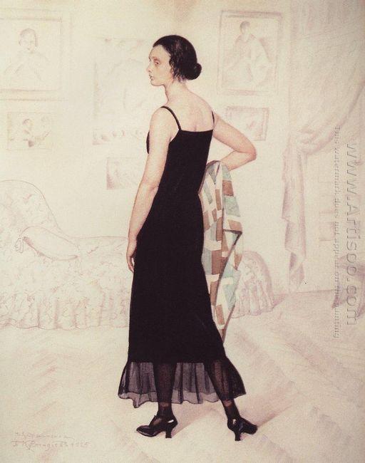 Portrait Of Natalia Orshanskaya 1925