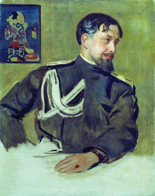 Portrait Of N D Milioti 1916