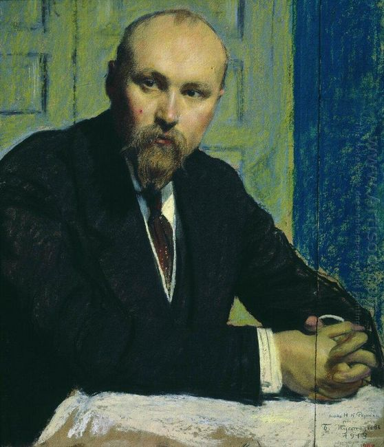 Portrait Of Nikolay Rerich 1913