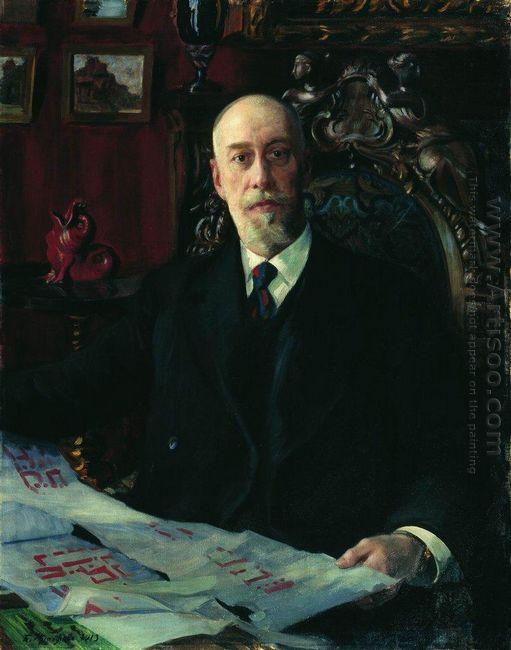 Portrait Of N K Von Meck 1913
