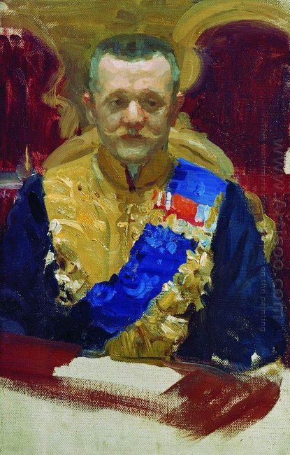 Portrait Of N V Muraviev 1903