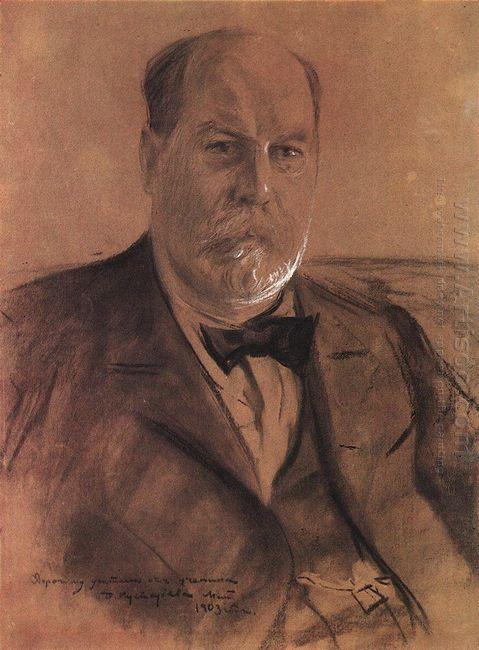 Portrait Of P A Vlasov 1903