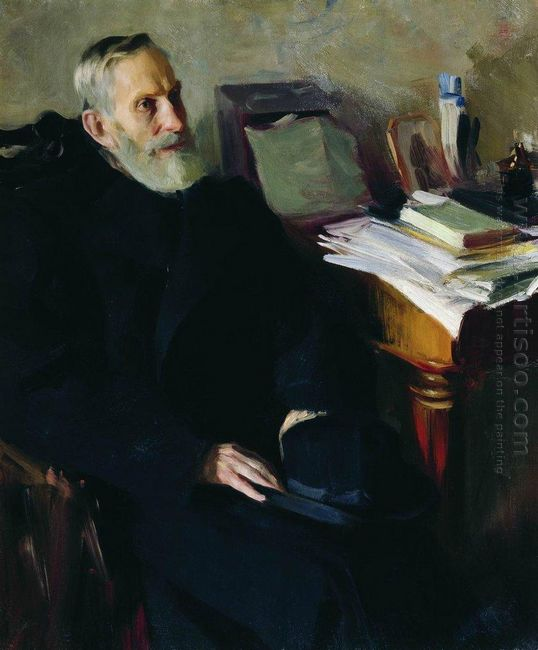 Portrait Of Stjepan Nikolsky Uncle Of The Artist 1901