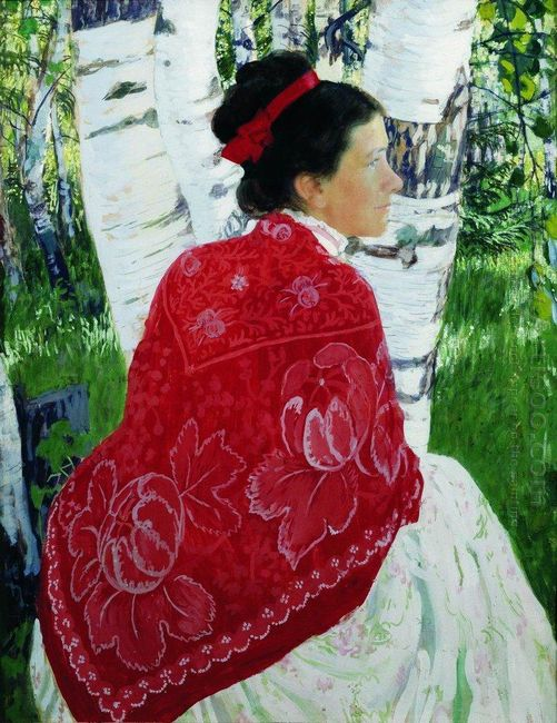 Portrait Of The Artist S Wife 1909