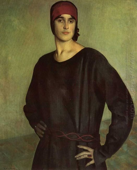 Portrait Of The Artist Tatiana Chizhova 1924