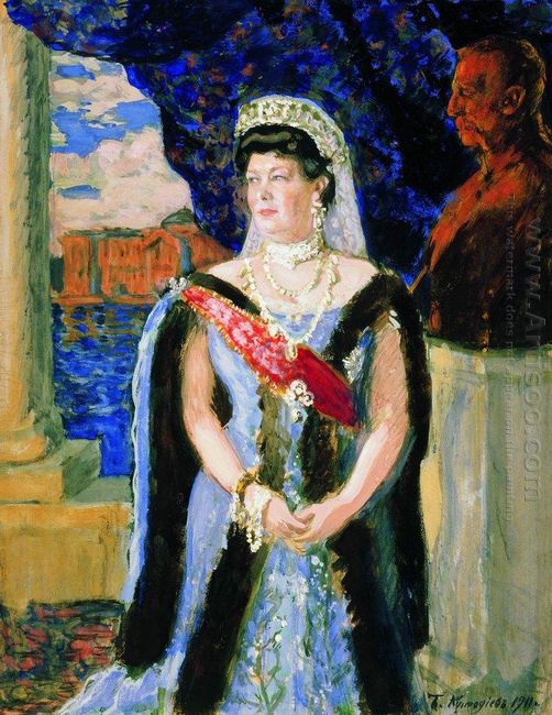 Portrait Of The Grand Duchess Maria Pavlovna 1911