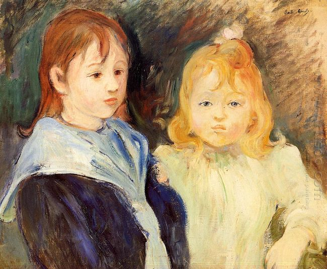 Portrait Of Two Children 1893