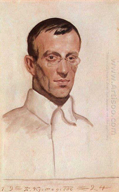 Portrait Of Vsevolod Voinov 1924
