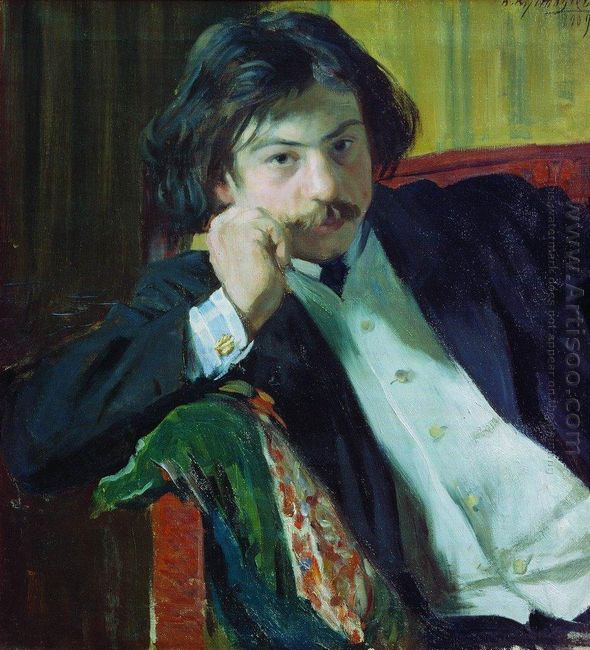 Portrait Of Y I Lavrin 1909