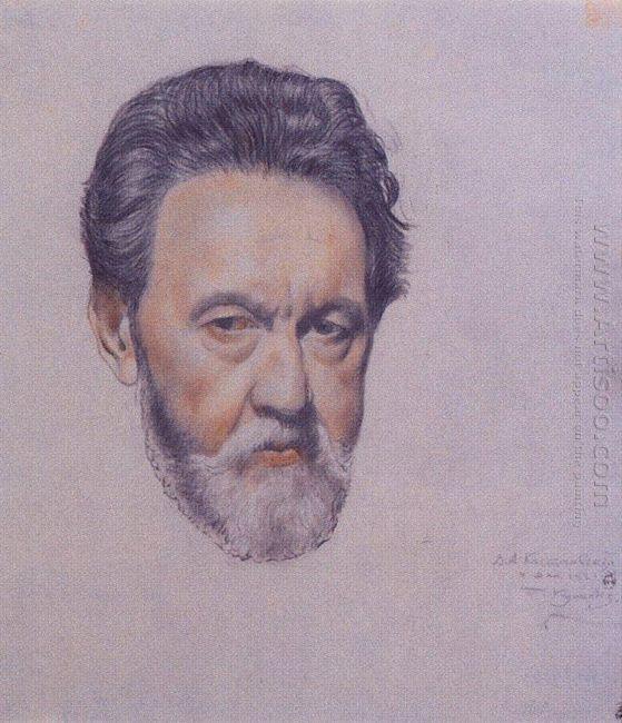 Portrait V A Kastalsky 1921
