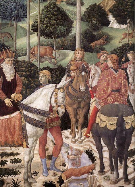 Procession Of The Magus Caspar Detail 1461 3