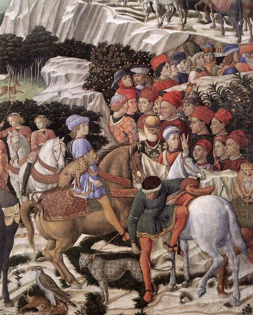 Procession Of The Magus Caspar Detail 1461