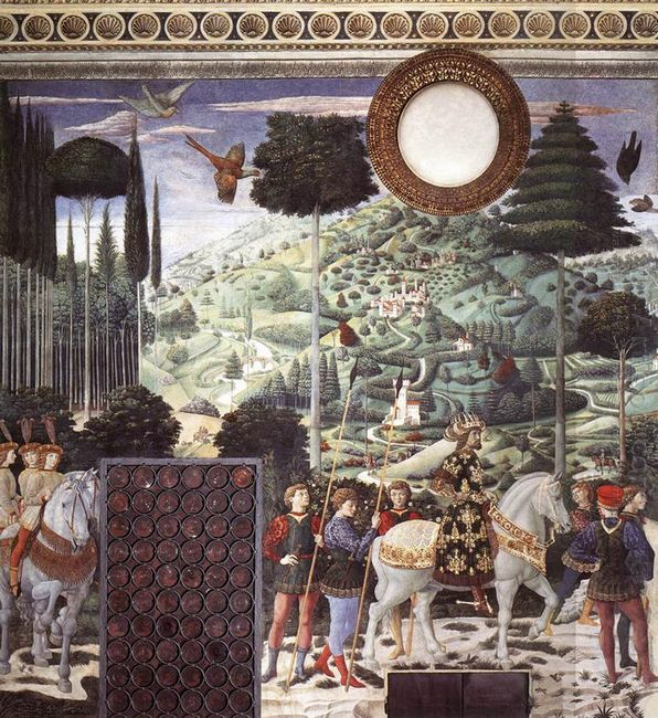 Procession Of The Magus Melchior Detail 1461