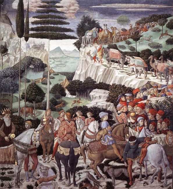 Procession Of The Oldest King 1460