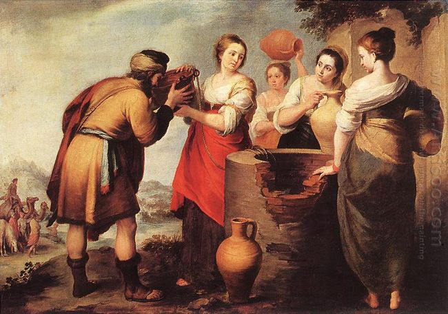 Rebecca And Eliezer 1650
