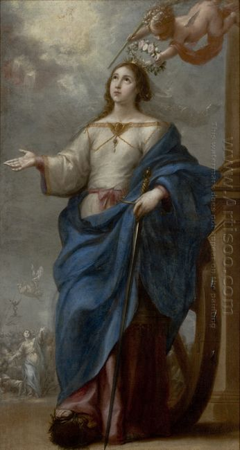 Saint Catherine Of Alexandria 1655