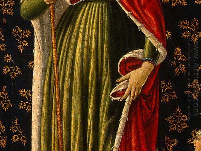 Saint Ursula With Angels And Donor Detail 2