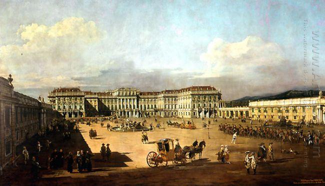 Schloss Schonbrunn 1760