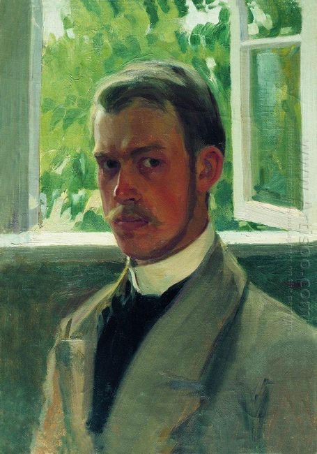 Self Portrait Near The Window 1899