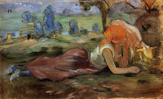 Shepherdess Resting 1891