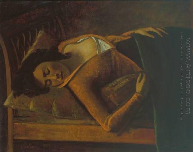 Sleeping Girl 1943
